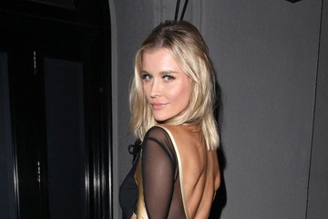 Joanna Krupa Celebrities Dine Out at Craig's Restaurant
