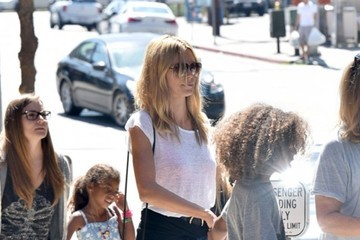 Johan Samuel Heidi Klum Is Spotted out with Her Kids