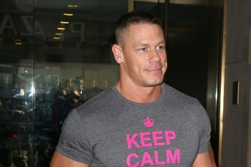 "John Cena Celebrities Visit ""Today"" Show"