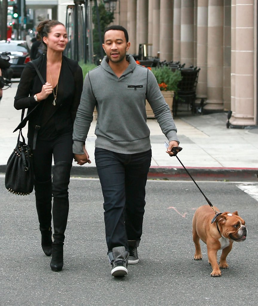 Chrissy Teigens Guide To Walking Your Dog In Style Chrissy Teigens Guide To Walking Your Dog In Style new images