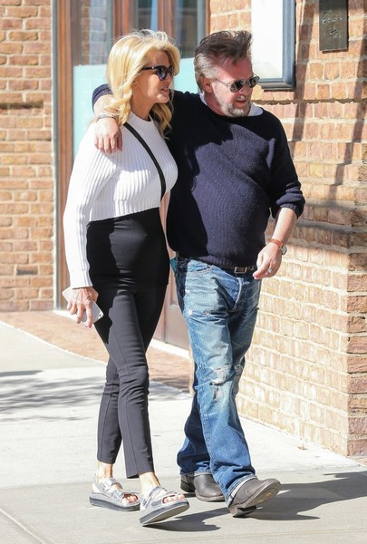 John Mellencamp and Girlfriend Christie Brinkley Spend Time in Tribeca
