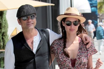 John Stamos John Stamos Goes For A Walk With His Girlfriend