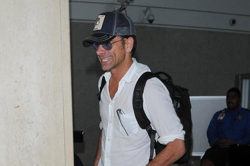 John Stamos John Stamos Arriving At LAX