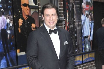 John Travolta Celebs Making An Appearance On The 'Late Show With David Letterman'