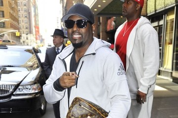 Johnny Gill Celebrities At 'The Late Show With Stephen Colbert'