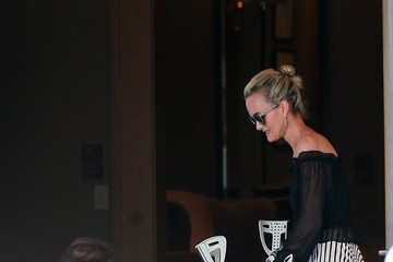 Johnny Hallyday Johnny And Laeticia Hallyday Have Dinner At Cecconi's