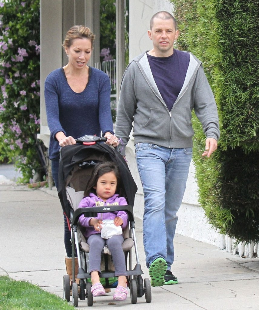 Photo of Jon Cryer & his  Daughter  Daisy Cryer