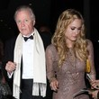 Leven Ramblin Jon Voight & Leven Ramblin Leaving Trousdale Nightclub