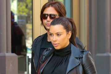 Jonathan Cheban Kim Kardashian and Jonathan Cheban in NYC