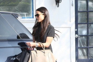 Jordana Brewster Jordana Brewster Is All Smiles in Beverly Hills