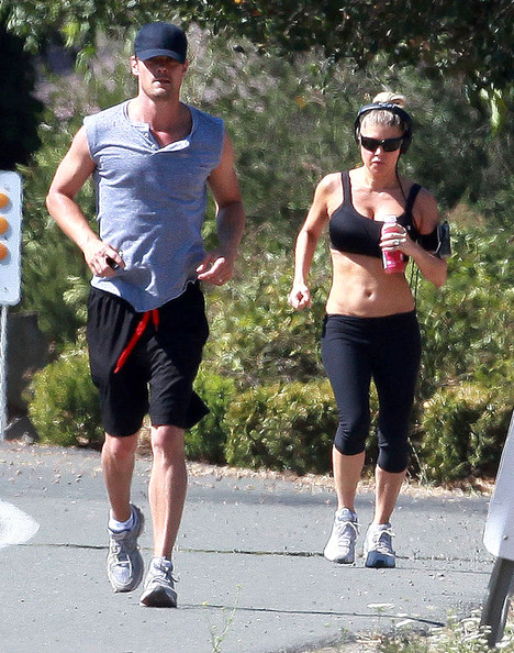 The couple was in town for Molly Sims wedding 20110925 180041