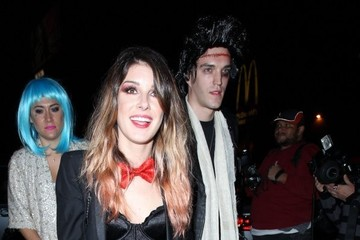 Josh Beech Stars Attend Matthew Morrison's Halloween Party