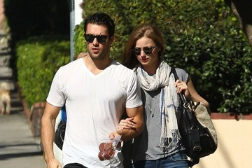 Josh Bowman Emily VanCamp and Josh Bowman Visit a Friend