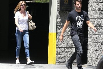 Joshua Bowman Joshua Bowman and Emily VanCamp Out in Beverly Hills