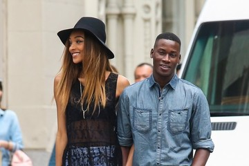 Jourdan Dunn Jourdan Dunn Poses in NYC