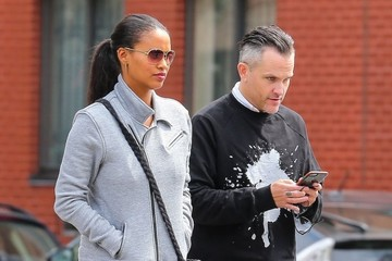 Joy Bryant Joy Bryant Out With a Friend in NYC