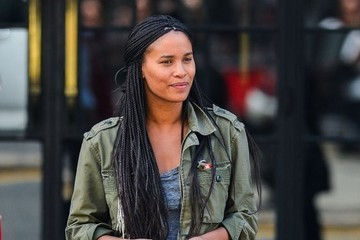 Joy Bryant Joy Bryant Outside the Bowery Hotel