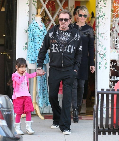 joy hallyday photos johnny hallyday spends valentine 39 s day with his girls 110 of 451 zimbio. Black Bedroom Furniture Sets. Home Design Ideas