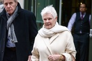 Judi Dench and David Mills Out in NYC