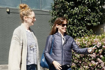 Judy Greer Ben Affleck and Jennifer Garner Get Lunch