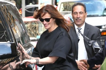 Julia Roberts Celebs Visit the 'Late Show With David Letterman'