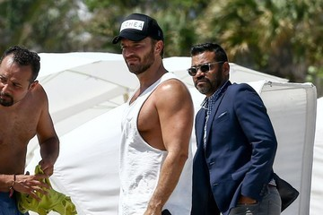 Julian Gil Julian Gil Hits the Beach in Miami