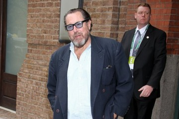 Julian Schnabel Celebs Leave the Tribeca Film Festival