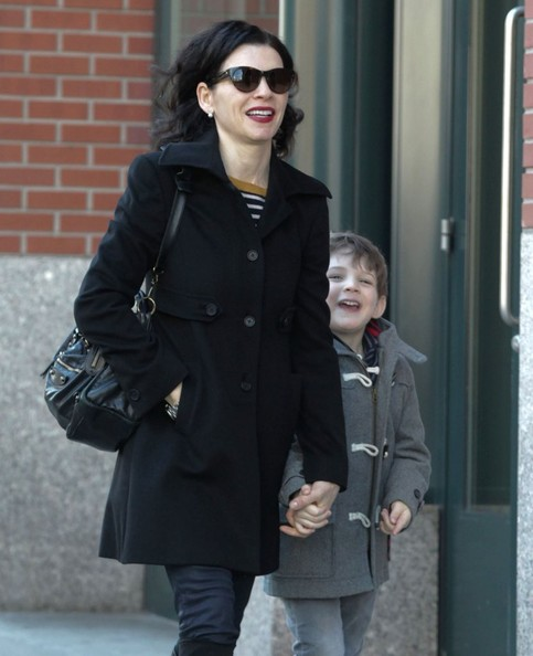 Julianna Margulies & Son Kieran Out And About In NYC []