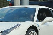 'Beauty And A Beat' singer Justin Bieber takes his on again, off again girlfriend Selena Gomez back to his place in Los Angeles, California on December 3rd, 2012.