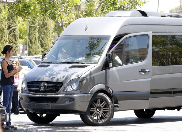 Justin Bieber Rides Around in His Tricked Out Van