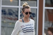 Kaley Cuoco Leaves a Yoga Class in Studio City