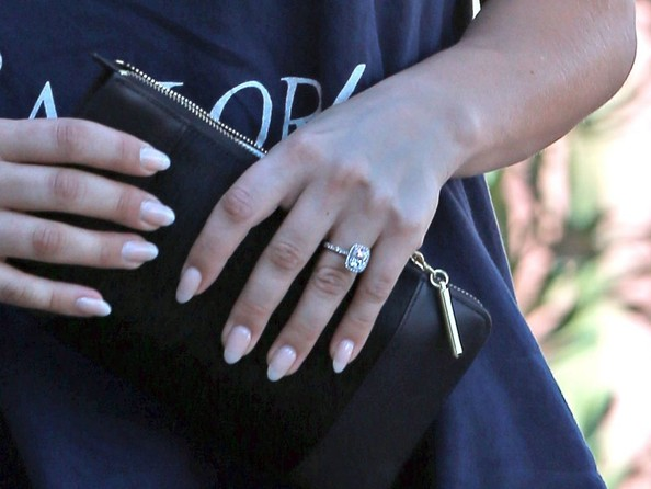 First Look: Kaley Cuoco's Massive Engagement Ring ...