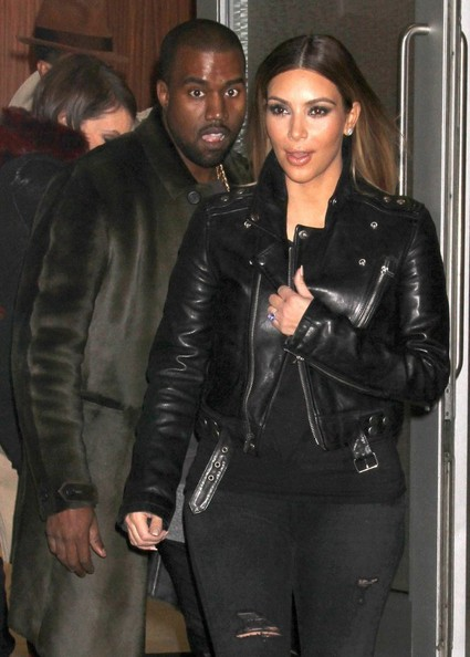 Kim Kardashian And Kanye West Head To Madison Square Gardens