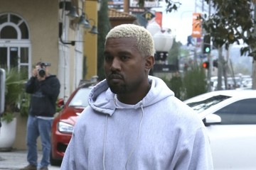 Kanye West Kanye West Heads to His Office in Calabasas