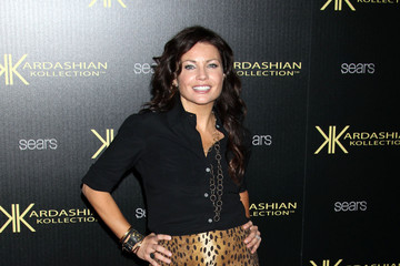 Tanya Mcqueen Stars Arrive at the Kardashian Kollection Launch Party