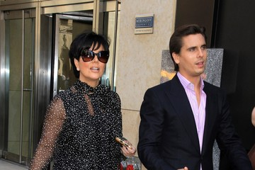 Kris Jenner Scott Disick The Kardashians In New York City
