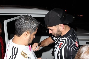 Karim Benzema Celebrities Enjoy a Night Out in Los Angeles