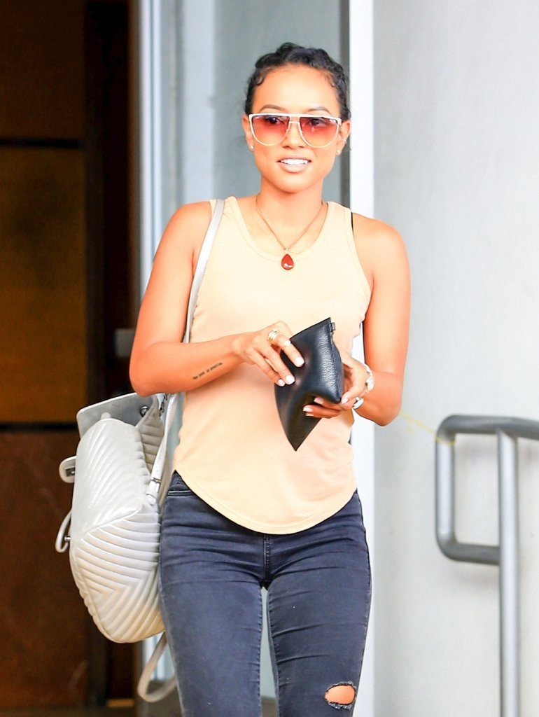Karrueche Tran Spotted Out and About in Beverly Hills, California
