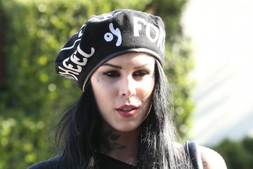Kat Von D Kat Von D Gets Lunch in Hollywood