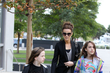 Lily Sheen Kate Beckinsale & Family Shopping At Fred Segal