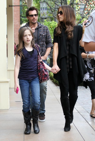 Kate Beckinsale And Lily Sheen Kate Beckinsale And Family Out