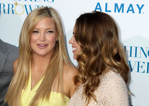 "Kate Hudson Celebrities attend the ""Something Borrowed"" Los Angeles premiere at Grauman's Chinese Theatre in Hollywood."
