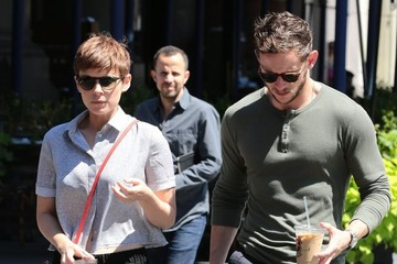 Kate Mara Kate Mara and Jamie Bell Are Spotted Out in New York City