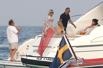 Jean-Yves Le Fur Kate Moss And Lily Allen Out In St. Tropez