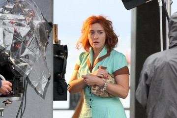 Kate Winslet Kate Winslet Performs on Set in Brooklyn