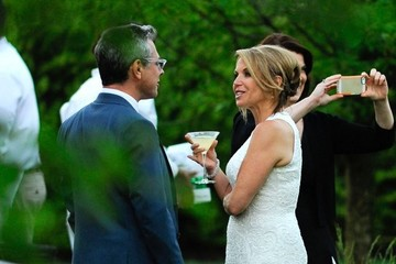 Katie Couric Katie Couric Weds John Molner At Her Home In The East Hamptons