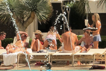 Katie Price Leandro Penna Katie Price Poolside in Vegas After a Long Night of Partying