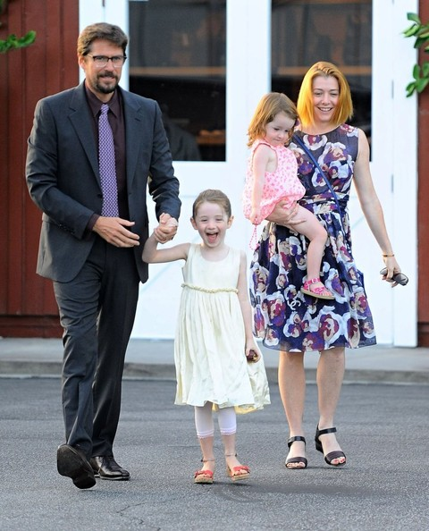 Keeva Denisof Pictures - Alyson Hannigan & Family Out For ...