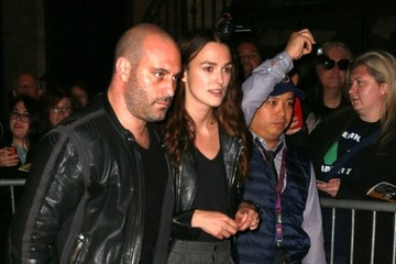 Keira Knightley Keira Knightley Leaves the 'Therese Raquin' Opening Night Preview
