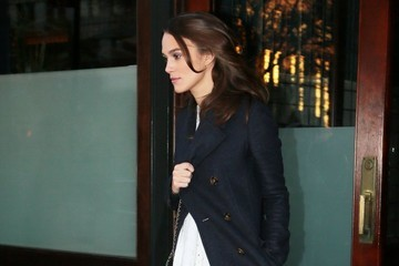 Keira Knightley Keira Knightley Steps Out in NYC